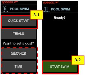 開始游泳,