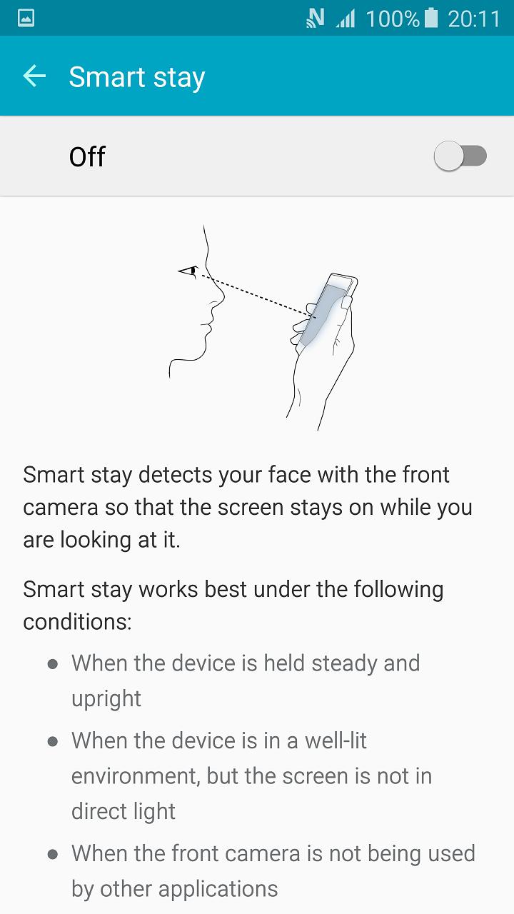 Smart Stay Menu