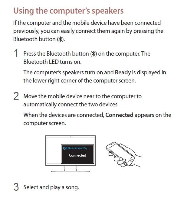 BT speaker on