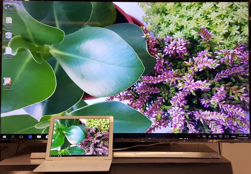 Galaxy TabPro S: How do I use Screen Mirroring?