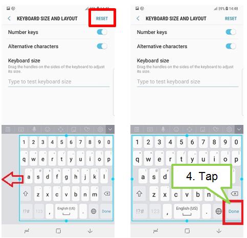 Reset Samsung Keyboard