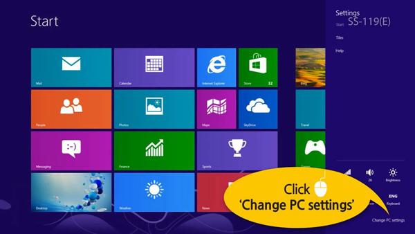 [Windows 8] 如何連接藍芽裝置