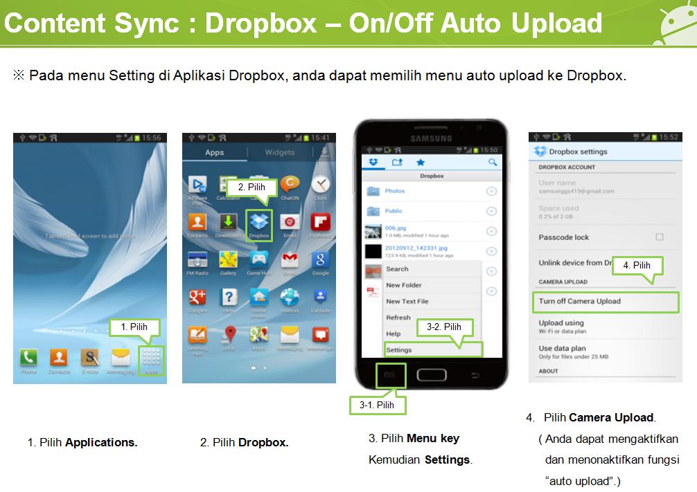 Dropbox Auto Upload