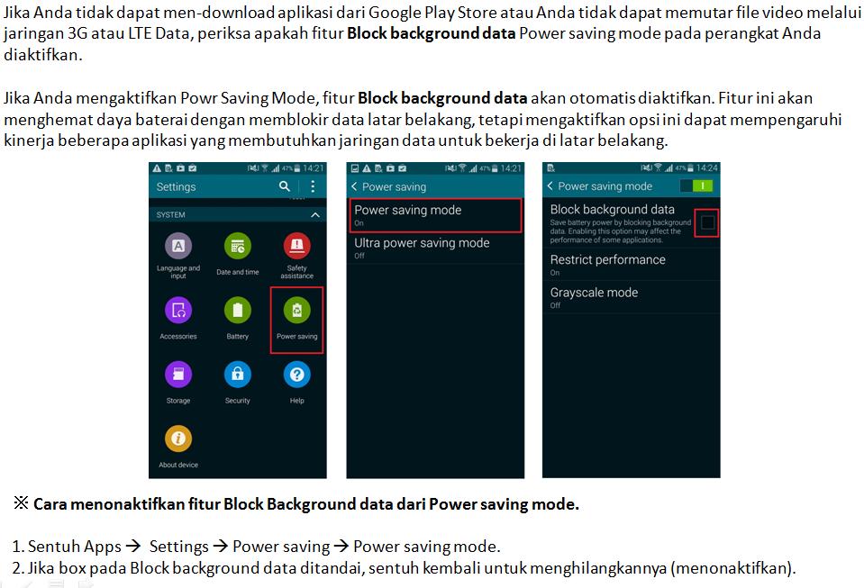 Perangkat Saya Tidak Bisa Mendownload Aplikasi Dari Play Store Samsung Indonesia