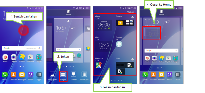 Bagaimana Menambahkan Widget Pada Home Screen Samsung Indonesia