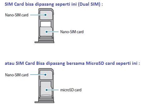 Apakah Samsung Galaxy A3 2017 sudah support dual sim card?