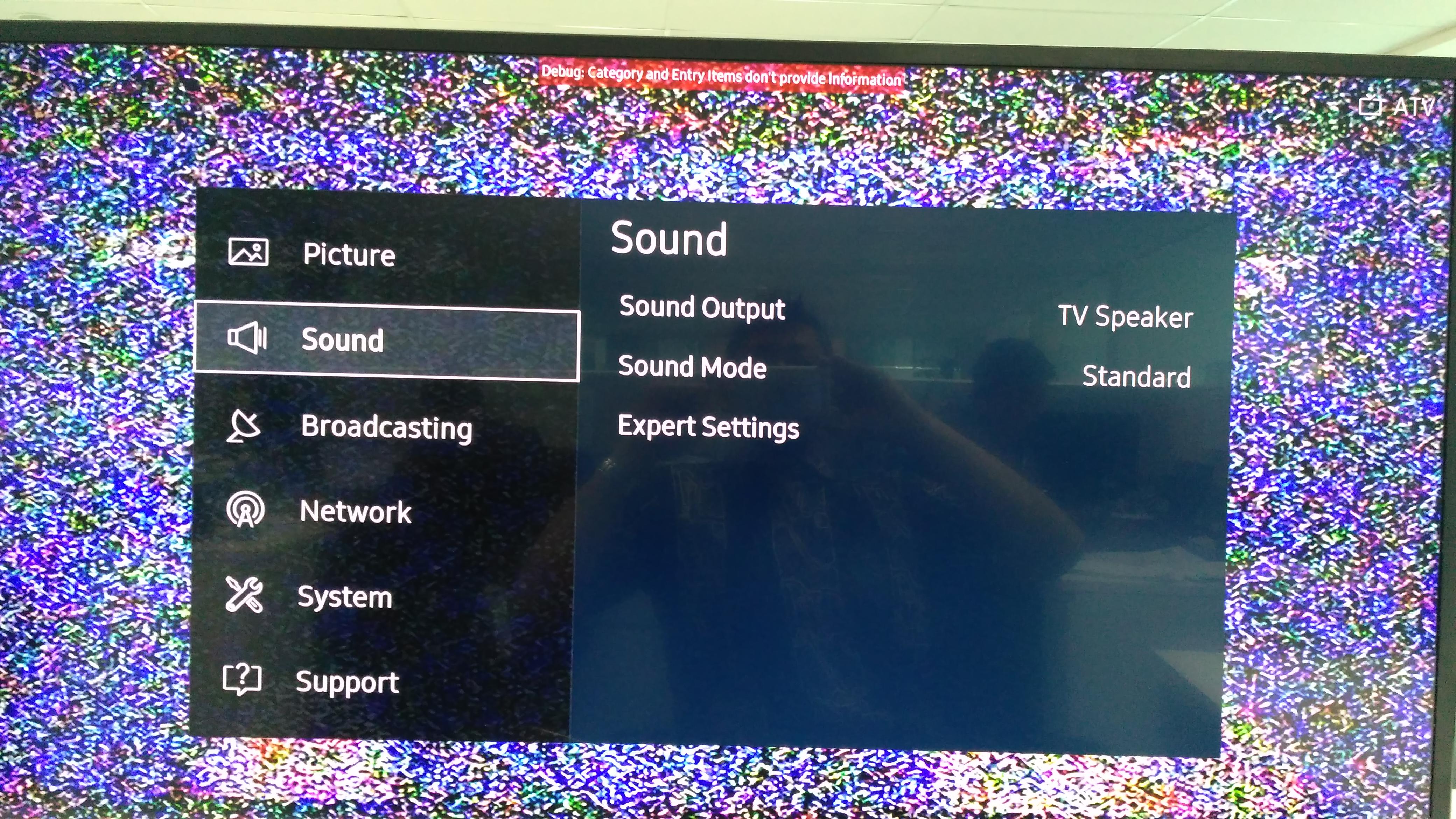 [FAQ] TV Tidak Keluar Suara?