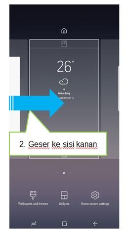 Bagaimana cara menonaktifkan Bixby Home pada Home Screen Note 8?