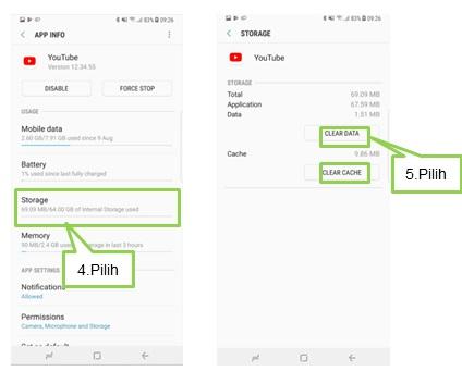 [Note 8] Memutar video Youtube, cara pengaturan layar penuh pada Note 8