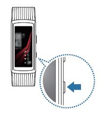 Bagaimanakah caranya menyalakan dan mematikan Gear Fit2 Pro?