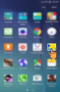How to send files via Bluetooth in Samsung Galaxy J5(SM-J500F)?