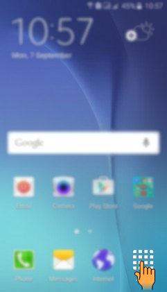 How to set Unlock effect in Samsung Galaxy J7(SM-J700F)?