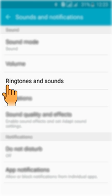 How to set Ringtone in Samsung Galaxy J2(SM-J200G)?