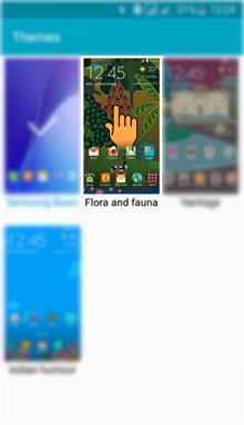 How to apply Theme in Samsung Galaxy J2(SM-J200G)?