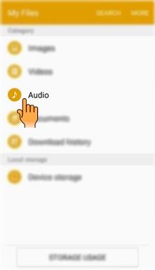 Bagaimana cara berbagi file Musik pada Samsung Galaxy J2 ( SM J200G)?