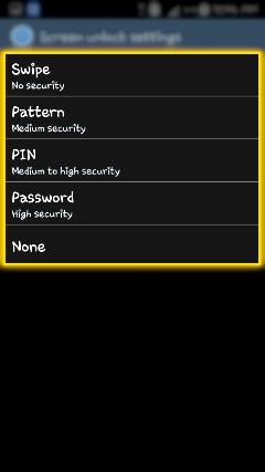 How to reset Pattern Lock in Samsung Smartphones?