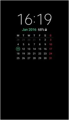 Bagaimana cara mengaktifkan fitur Always On Display pada Galaxy S7 Edge?