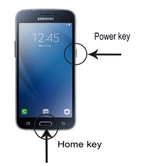 How to take Screenshot in Samsung Galaxy J2-2016(SM-J210F)?