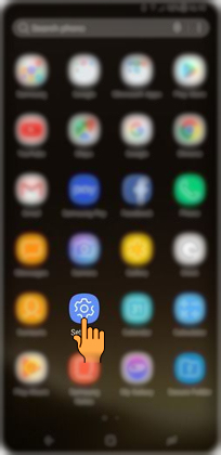 Bagaimana cara mengubah layout Soft Button di Samsung Galaxy S8+ (SM G955)?