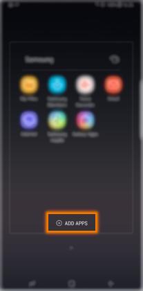 Saya ingin membuat folder untuk beberapa aplikasi pada Note 8. Bagaimana caranya?