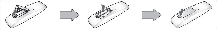 Orientamento batterie nel telecomanDO sAMSUNG