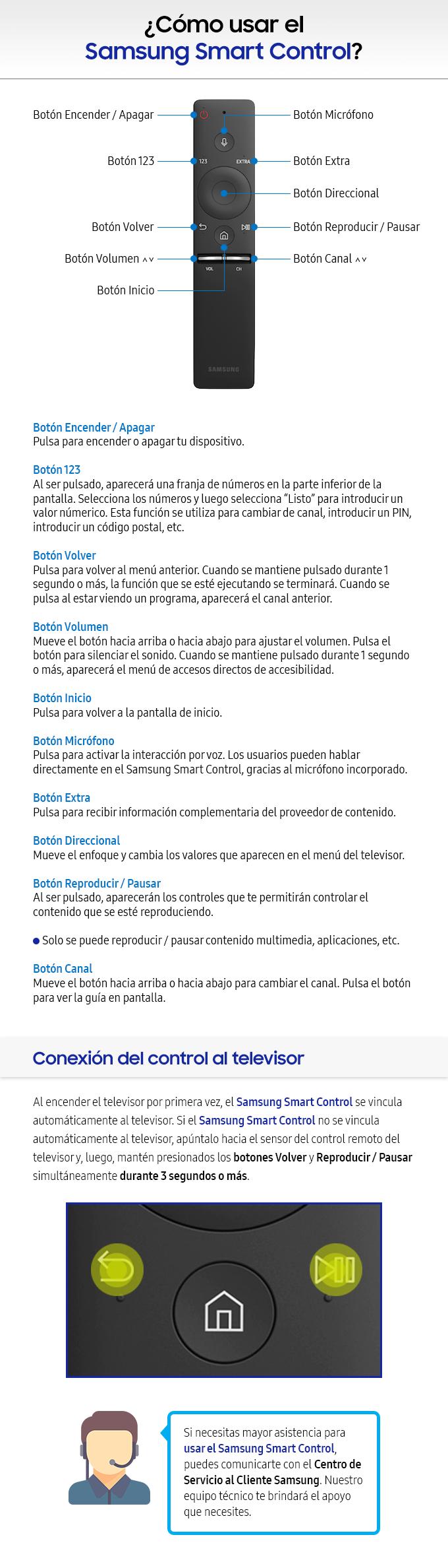 Como usar el Samsung Smart Control