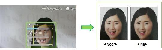 Faire des photos avec le mode Correction de visage (Beauty Face) sur le Galaxy S4 ou S5