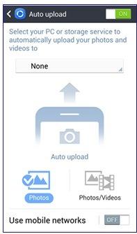 Comment télécharger automatiquement des photos que j'ai prises avec mon téléphone ?