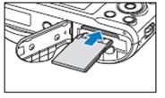 Comment puis-je installer la batterie et la carte mémoire dans mon appareil photo ?