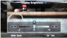 Que faire si l'écran LCD de mon appareil photo affiche une image sombre ou pas d'image ?