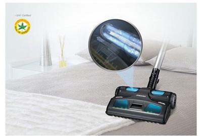 À quoi sert la brosse UV de mon aspirateur ?