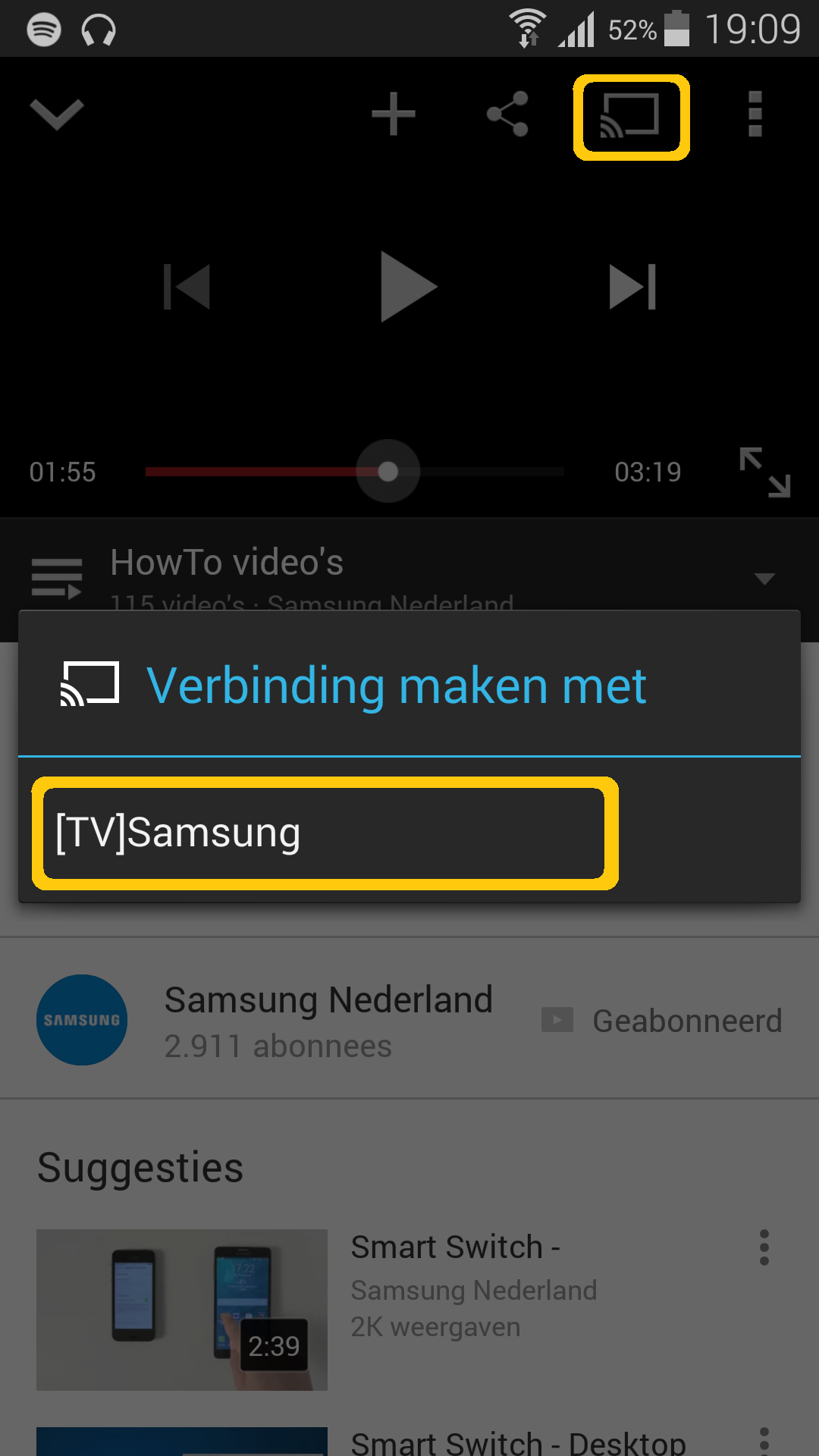 Quelles possibilités mon smartphone Samsung offre-t-il avec une Smart TV Samsung ?