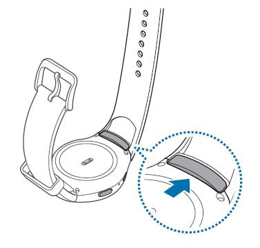Comment puis-je remplacer le bracelet de ma Galaxy Gear S2 ?