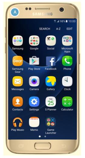 Où se trouve le lecteur audio du Galaxy S7