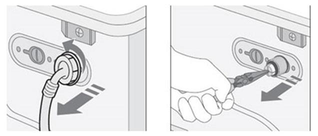 Wasmachine controle