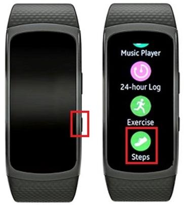 Comment puis-je contrôler mes activités sur le Gear Fit 2 ?
