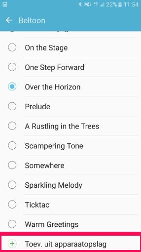 Comment puis-je modifier la sonnerie ou l'alerte des messages de mon smartphone/tablette ?
