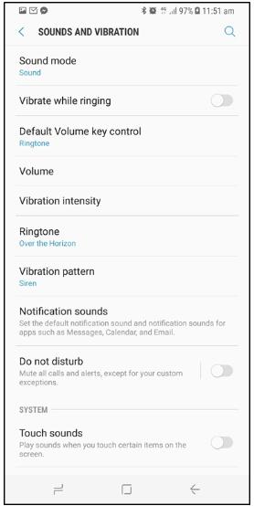 Galaxy S8: How to apply a custom ringtone