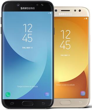 Galaxy J Series 2017:Comparison Specification