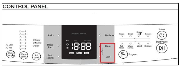 How does Child Lock work on my washing machine?