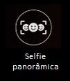 Selfie panorâmica