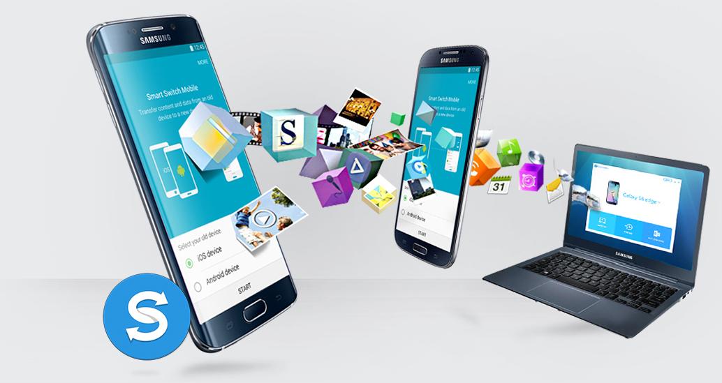 Qual a versão Android suportada no Kies 2.6, Kies 3 e Smart Switch PC?