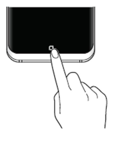 Como visualizar o botão Home e a barra de navegação