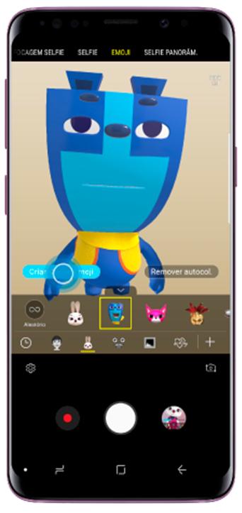 Toque em Criar o meu Emoji