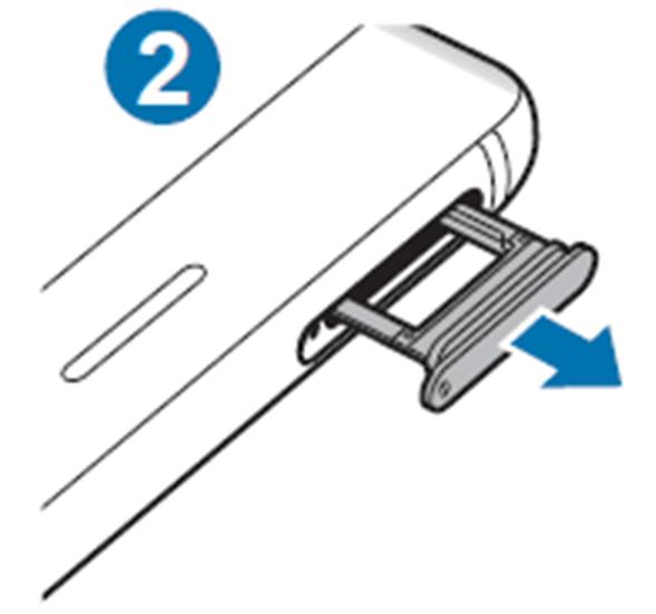 Retire o tabuleiro cuidadosamente da respectiva ranhura