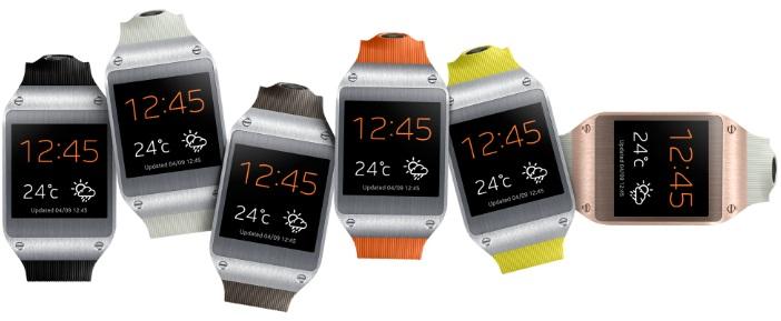 Як перевірити рівень зарядки акумулятора смарт-годин Galaxy Gear?