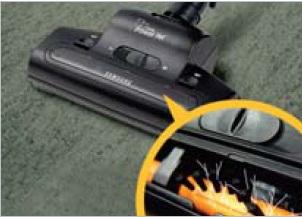 Какими дополнительными насадками могут комплектоваться пылесосы Samsung?