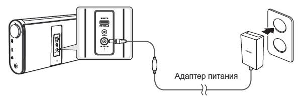 Правила заряду батареї бездротової аудіосистеми DA-F60.