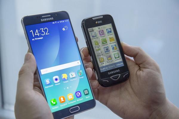 Новый и старый телефоны