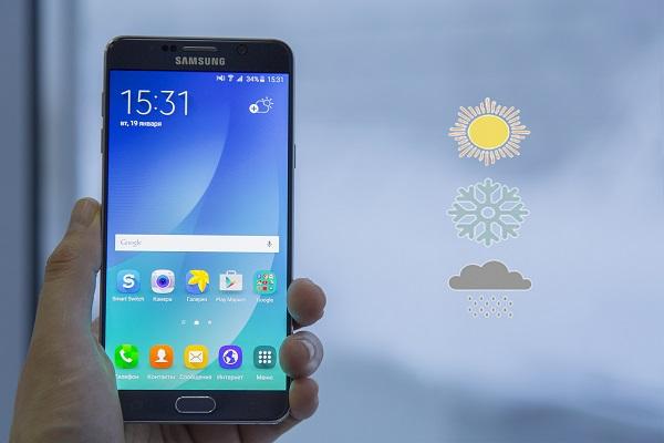 Внешние факторы, такие как погода, влияют на время работы смартфона